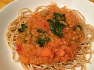 Plant Based Vegan Spaghetti Bolognese