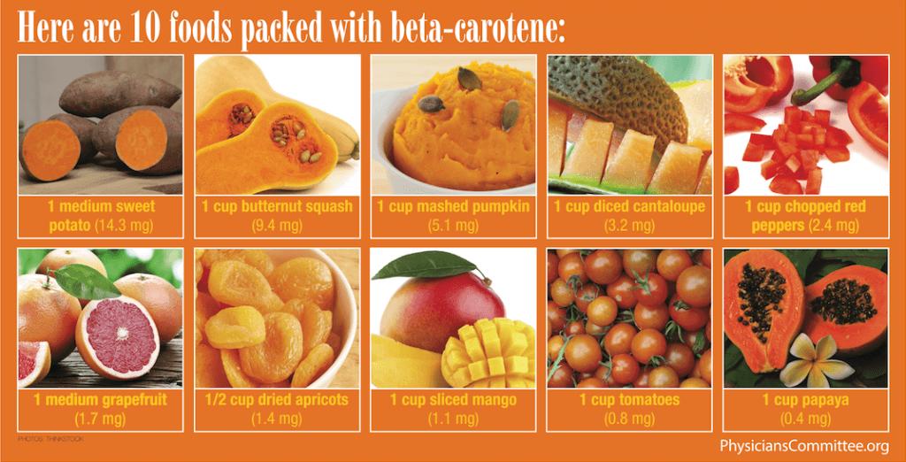 Beta keratin foods