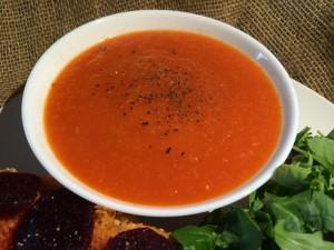 Plant-Based Tomato Soup