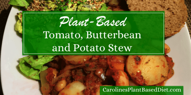 Plant-Based Tomato, Butterbean and Potato Stew
