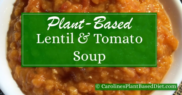 Lentil and Tomato Soup