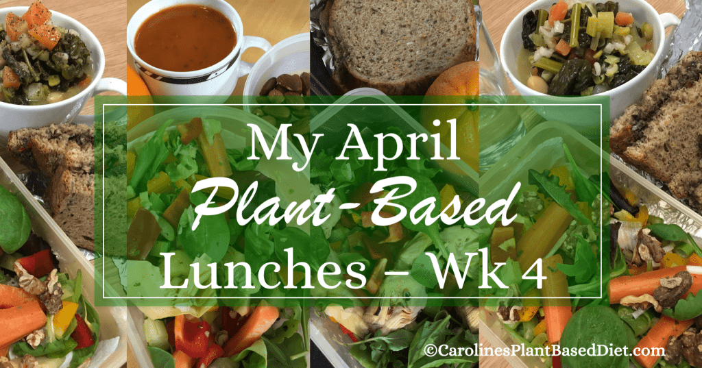My April Plant-Based Lunches wk4