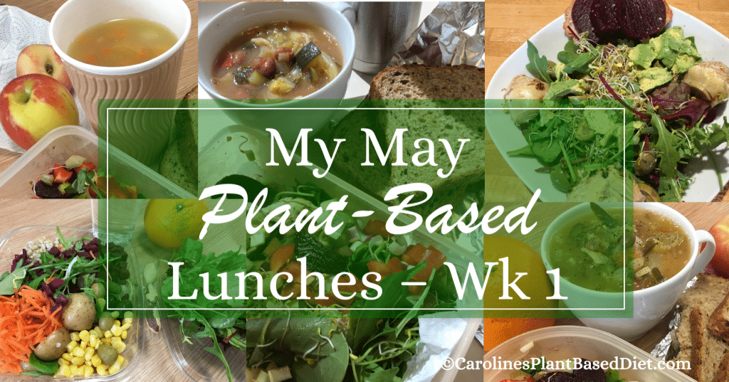 My May Plant-Based Lunches wk1