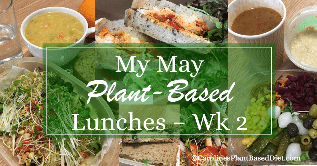 My May Plant-Based Lunches wk2