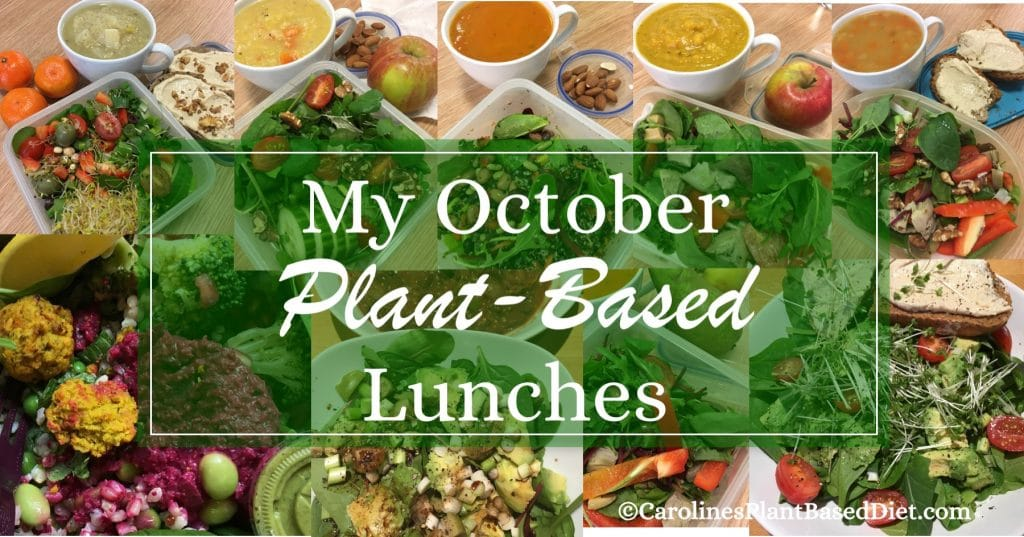 My October Plant-Based Lunches 271017