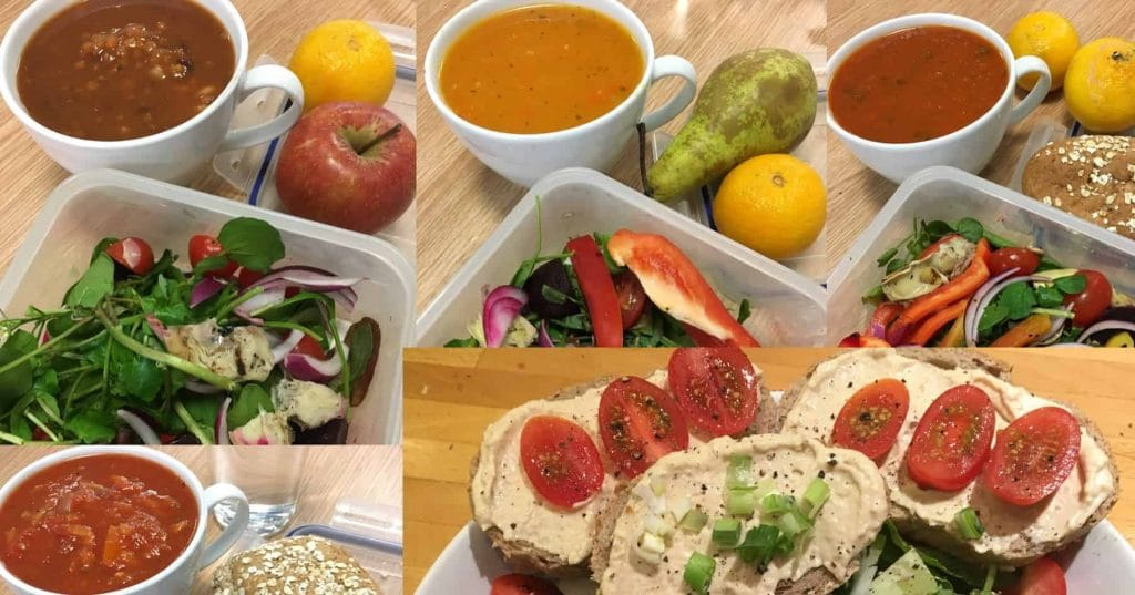 My November Plant-Based Lunches – Wk 1