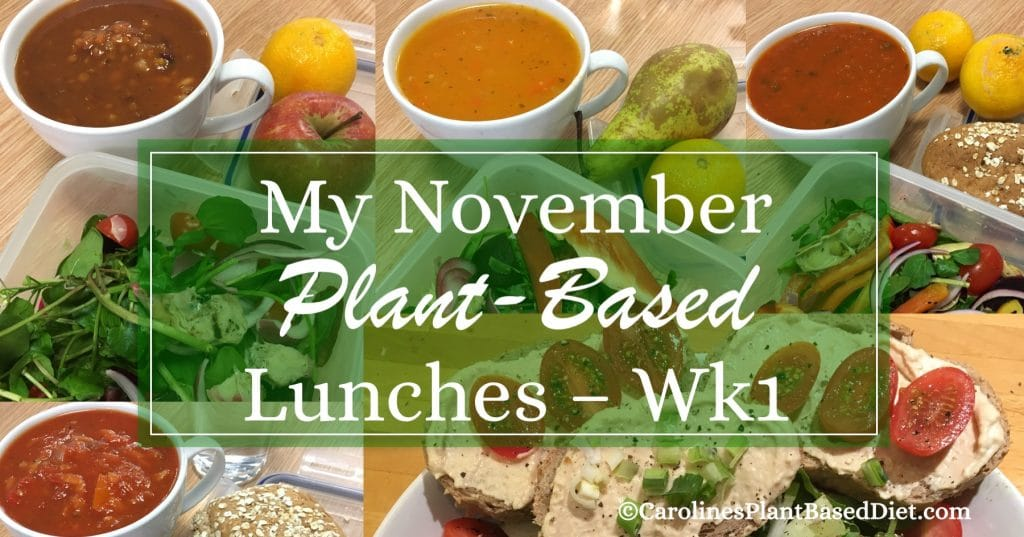 My November Plant-Based Lunches 031117