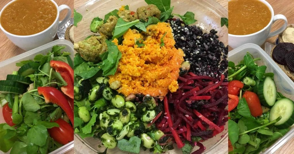 My November Plant-Based Lunches – Wk 2