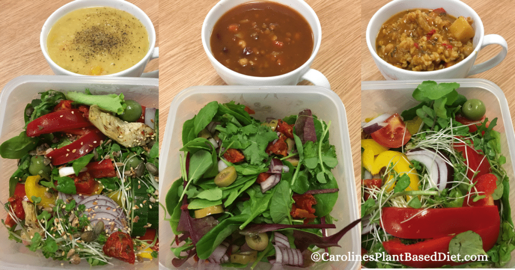 My November Plant-Based Lunches Week 4