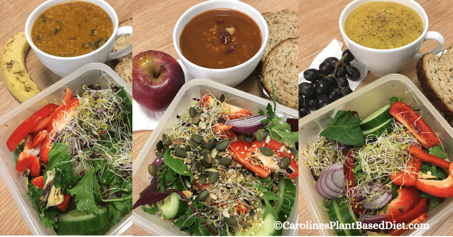 My February 2018 Plant-Based Lunches Week 1