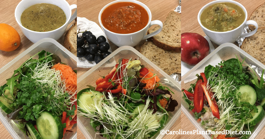 My January 2018 Plant-Based Lunches Week 5